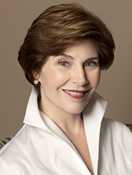 Former First Lady Laura W. Bush